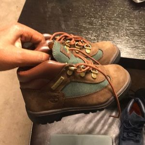 Toddler timberland beef and broccli